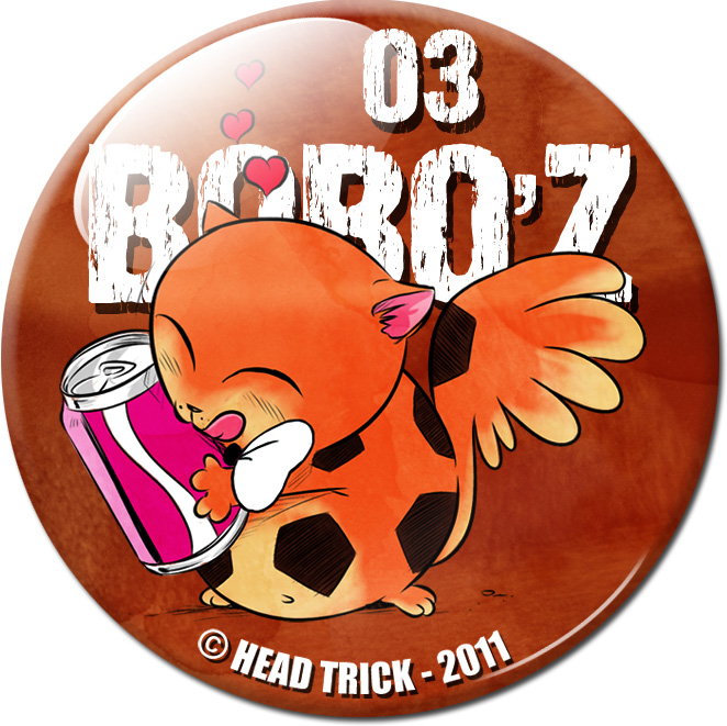 Badge'Z Chapter Collection : 03 (Bobo'Z)