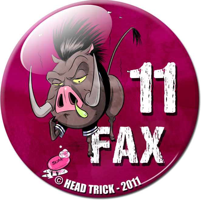 Badge'Z Chapter Collection : 11 (Fax le phacochère)