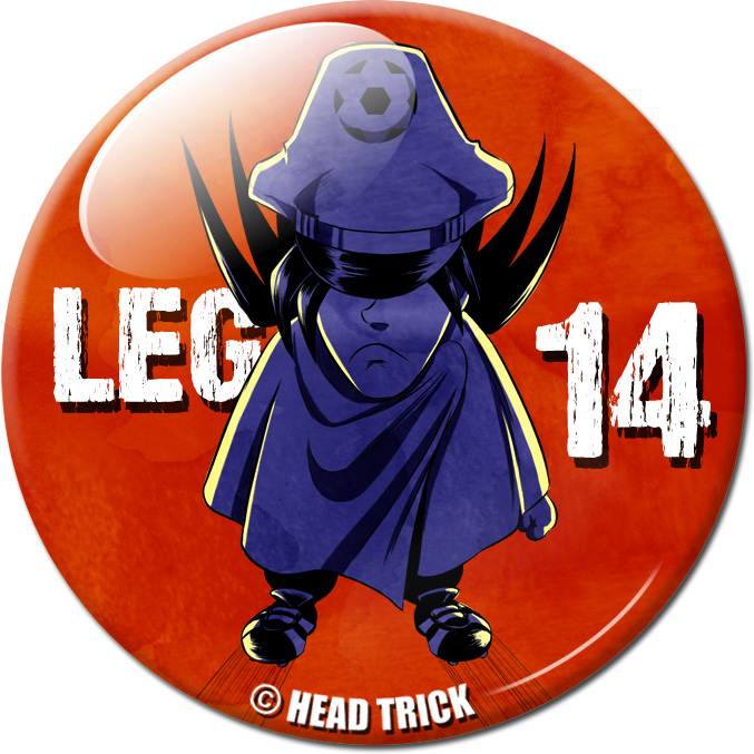 Badge'Z Chapter Collection : 14 (Leg en colère)