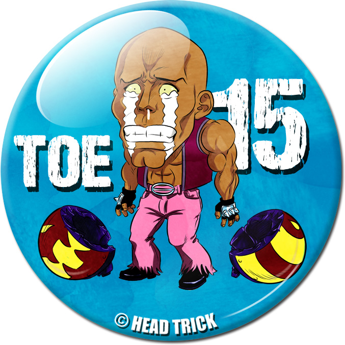 Badge'Z Chapter Collection : 15 (Toe)