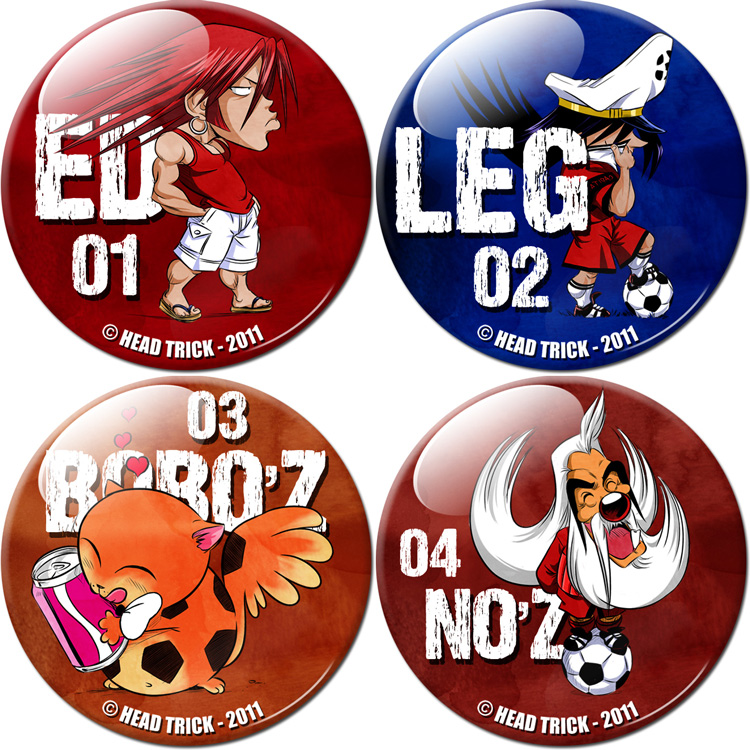 Badge'Z Chapter Collection Volume 1 : Ed, Leg, Bobo'Z et No'Z (à PRIX REDUIT)