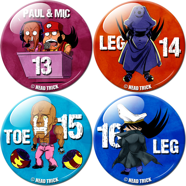 Badge'Z Chapter Collection Volume 4 : Leg, Paul et Mic, Toe et Leg en colère (à PRIX REDUIT)