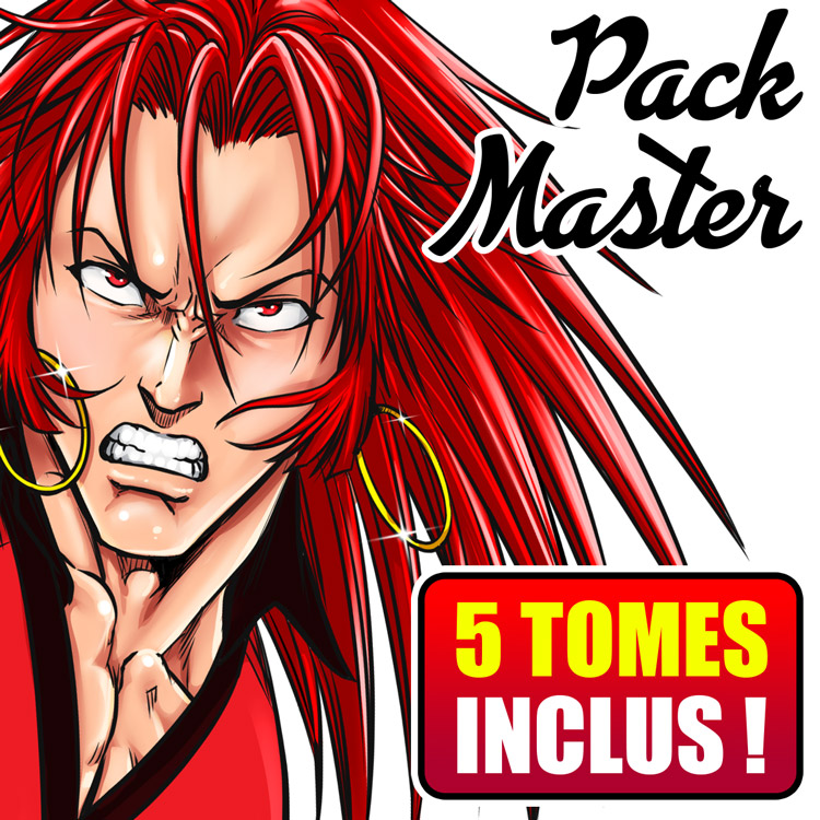 Accès complet Fan Club'Z (PACK Master - 5 MANGAS)