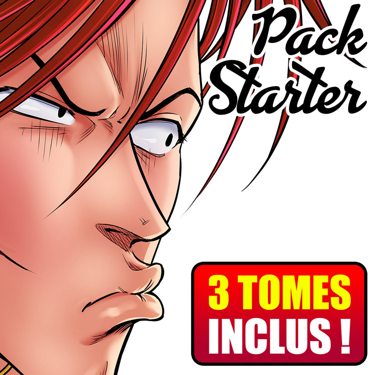 Accès complet Fan Club'Z (PACK STARTER - 3 MANGAS)