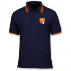 Polo collector Bobo'Z (Version bleue nuit et bandes orangés)