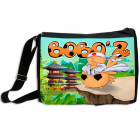 Art Bag Bobo'Z en Mode Ninja (Version Spéciale Soleil Levant)
