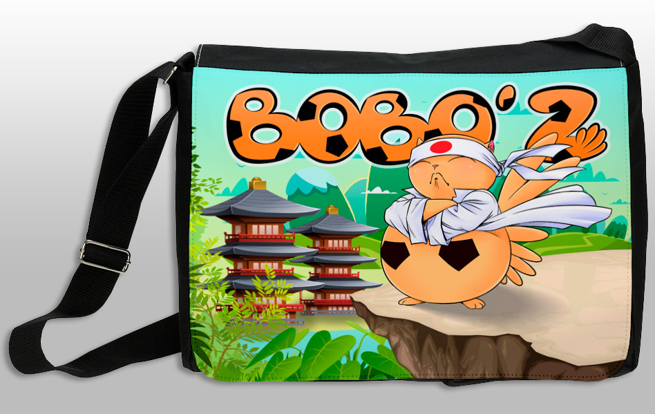 Art Bag Bobo'Z en Mode Ninja (Version Soleil Levant)