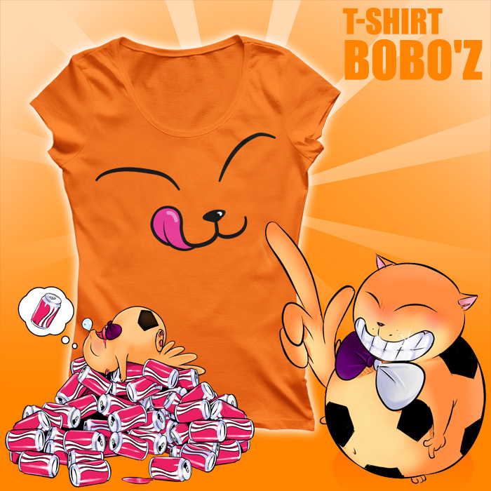 Aniball Collection : T-shirt Bobo'Z (Coupe Femme)