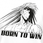 T-shirt manches longues - ED: BORN TO WIN